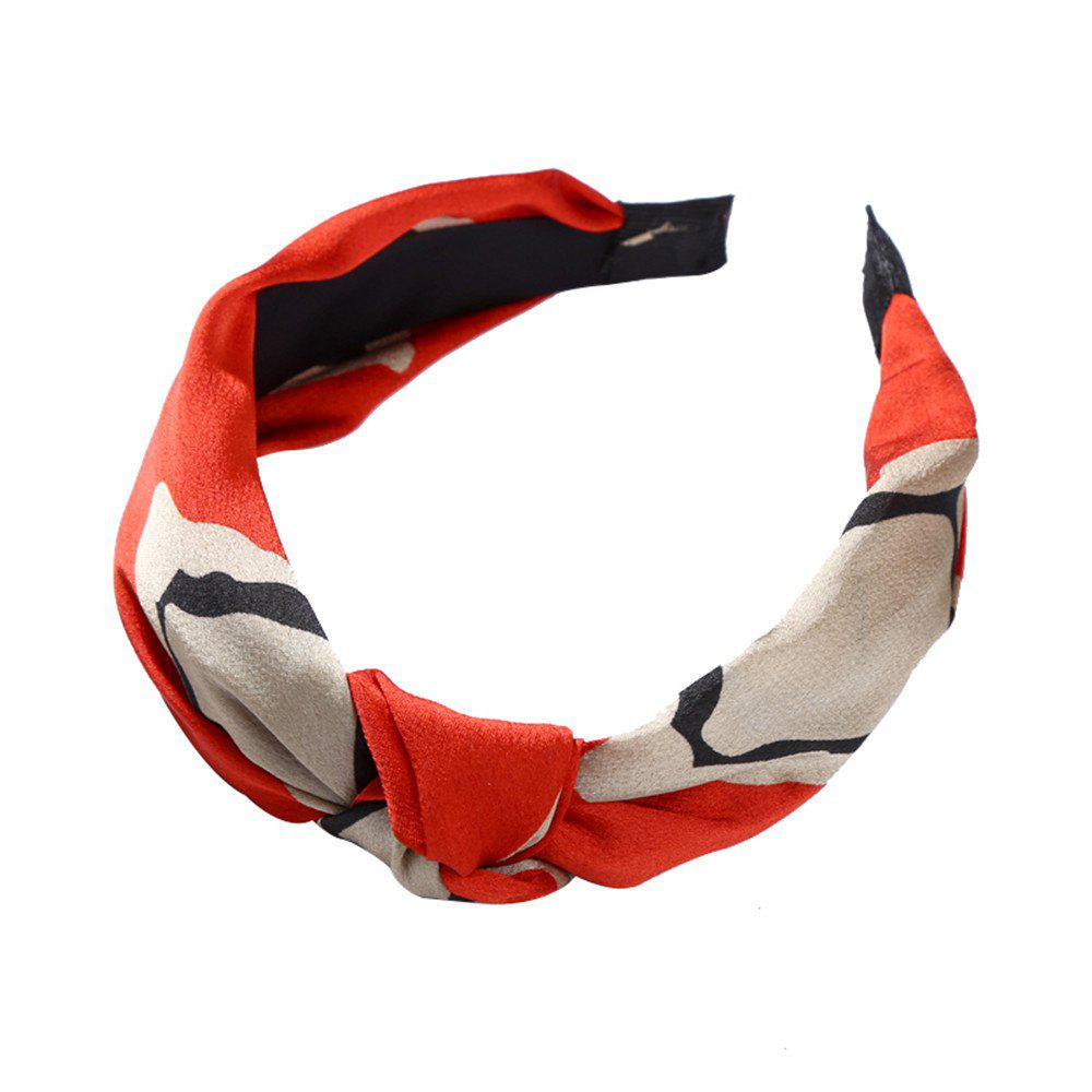 Sale Cloth Art Knitwear Yoga Face Geometry Hairband