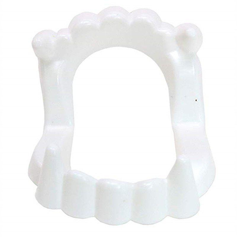 Shop White Sharp Vampire Fangs Dracula Monster Teeth