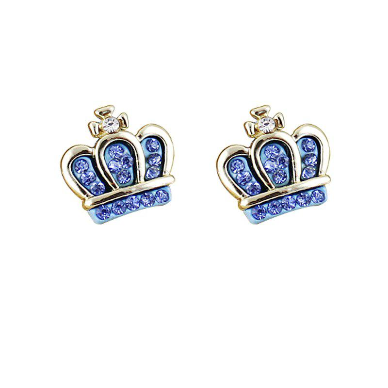 Unique Small Lovely Full Rhinestone Earrings for Women