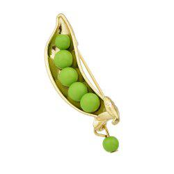 Lovely Bead Peas Shape Brooch for Women -