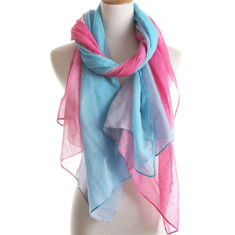 Chic Fashion Partysu Dual Color Sun Protection Scarf