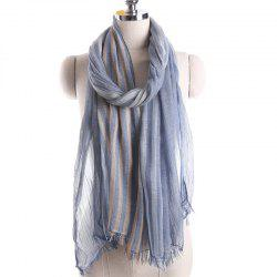 Summer Fashion Stripe Pattern Prevent Bask Scarf -