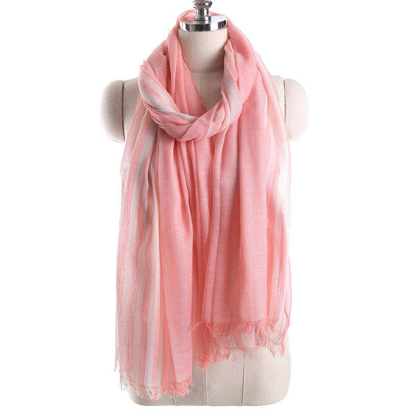 Sale Summer Fashion Stripe Pattern Prevent Bask Scarf