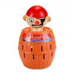 Funny Gadget Pirate Barrel Game for Children Lucky Stab Pop Up Toy -