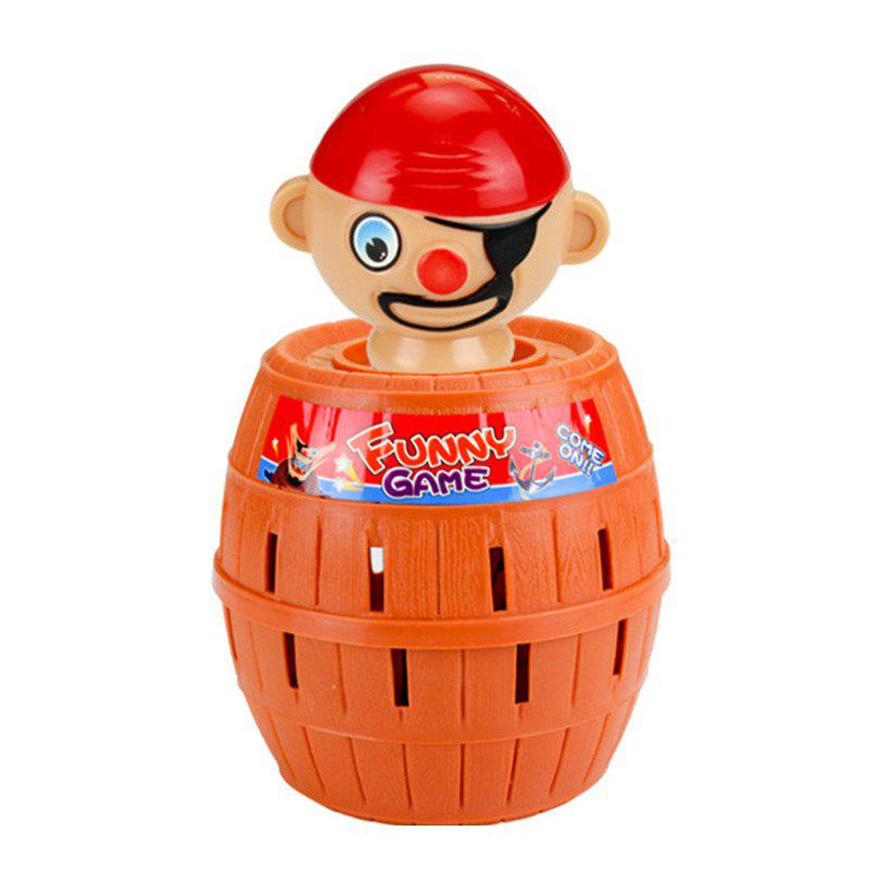 Buy Funny Gadget Pirate Barrel Game for Children Lucky Stab Pop Up Toy
