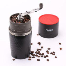 ALOCS Manual Portable Mini Coffee Bean Grinder Home CW-K16 -