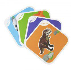 Причудливый зоопарк AR 4D Flashcards Magic Animal Educational Game -