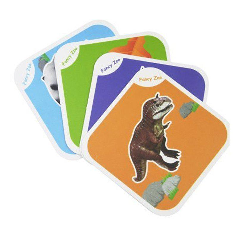 Причудливый зоопарк AR 4D Flashcards Magic Animal Educational Game