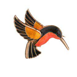 Broche pour oiseaux en émail Badge Cartoon Animal -