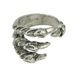 Fashion Metal Claw Open Cuff Ring for Women -