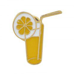 Lovely Colorful Enamel Cup Drink Brooch for Women -