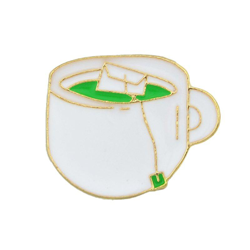 Best Lovely Colorful Enamel Cup Drink Brooch
