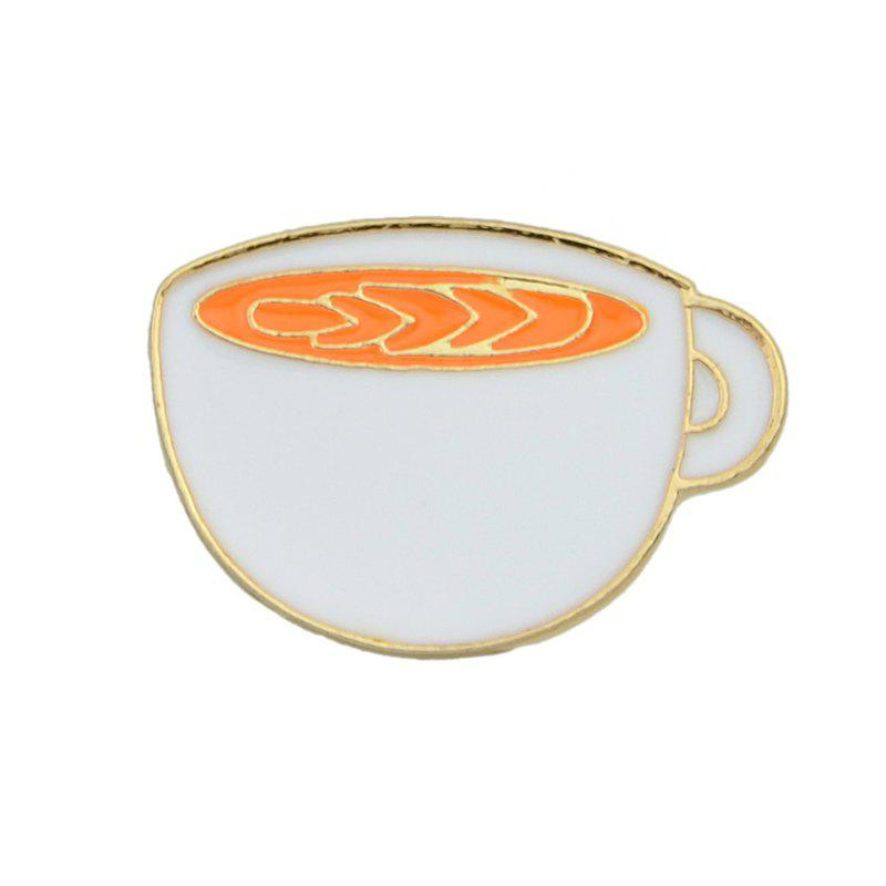 Chic Lovely Colorful Enamel Cup Drink Brooch