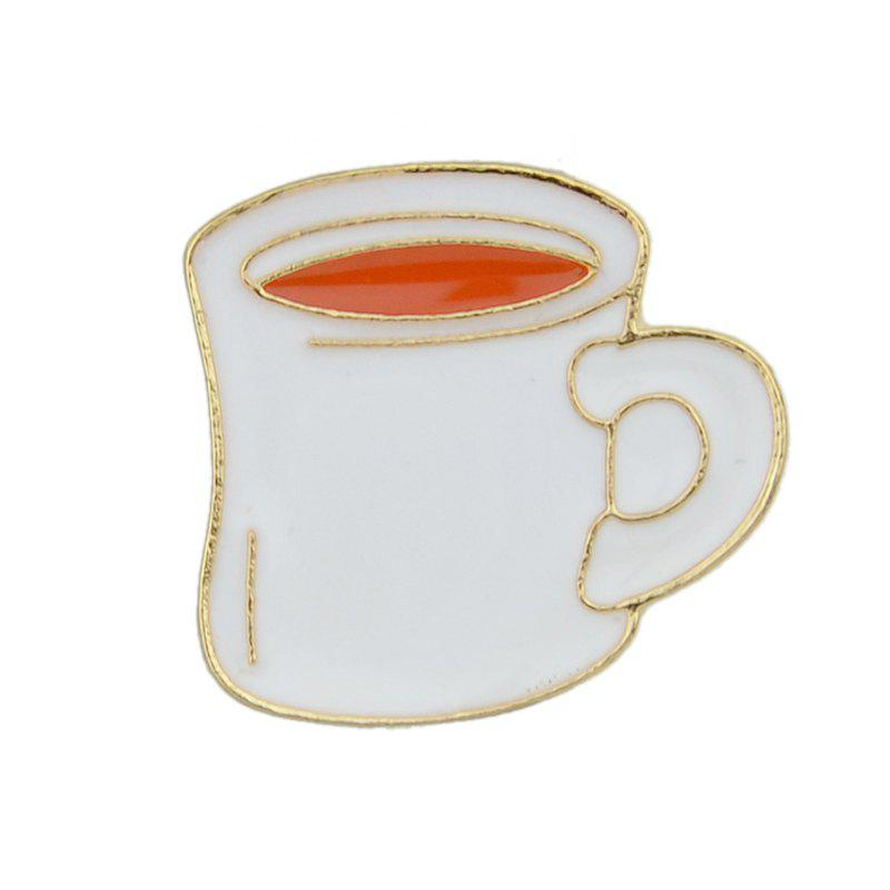 Latest Lovely Colorful Enamel Cup Drink Brooch