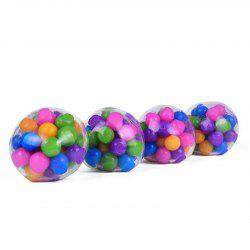 Jumbo Squishy Stress Ball Squeeze Color Sensory Toy -