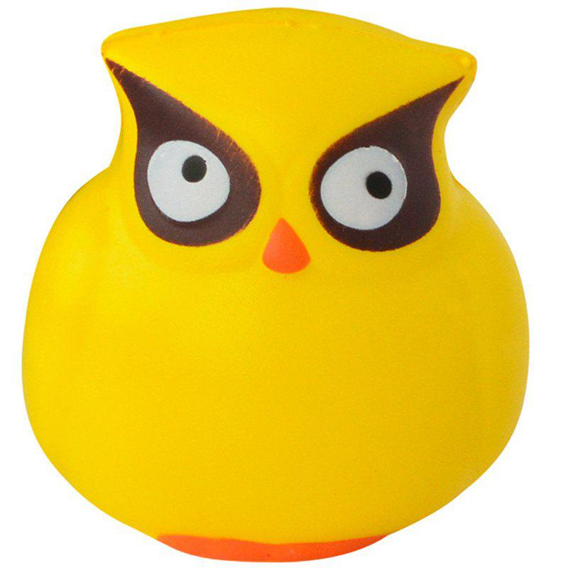 Shops Owl Cream Scented Cute Squishy Toys Stress Reliever Squeeze Slow