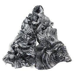 Fashion Beautiful Classic Printing Scarf for Women -