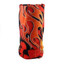Fashion Red Fire Sunscreen Ultraviolet-proof Washcloth Scarf -