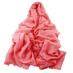 High Quality Women Long Cute Solid Color Scarf -