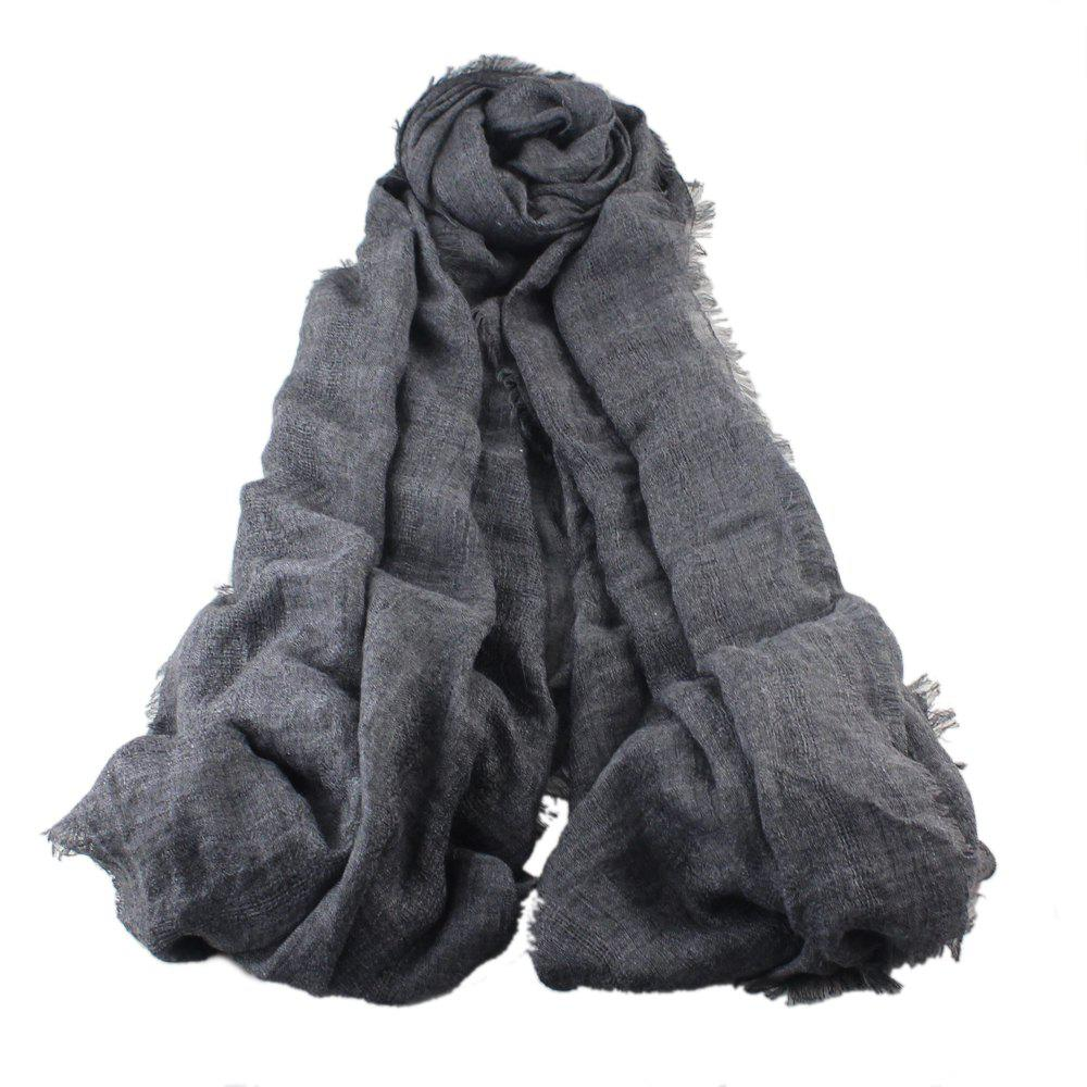 Online High Quality Women Long Cute Solid Color Scarf