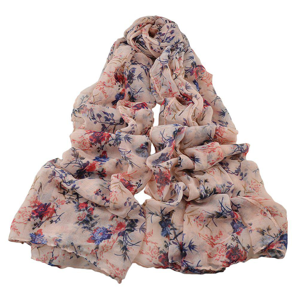 Hot Fashion Women Long Print Cotton Scarf Wrap