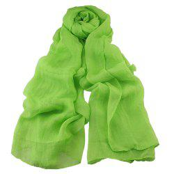 Fashion Solid Voile Soft Candy Scarf Shawl -