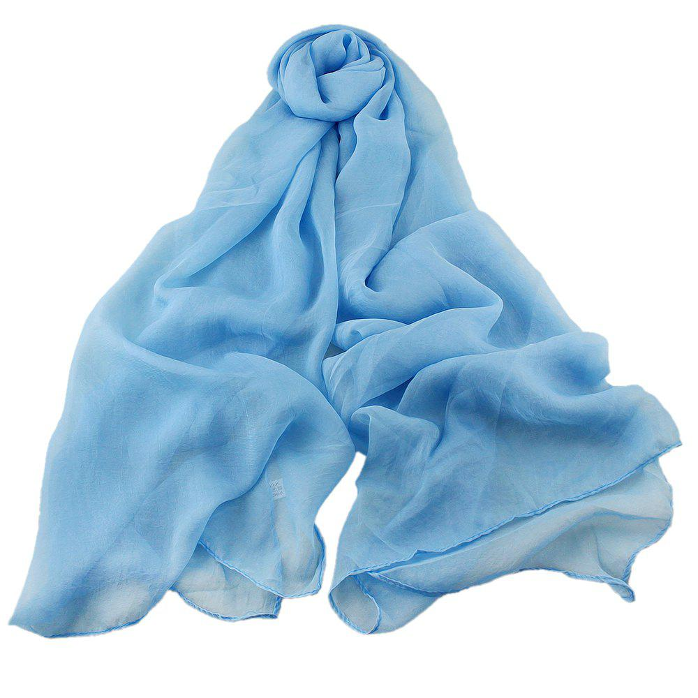 New Fashion Solid Voile Soft Candy Scarf Shawl