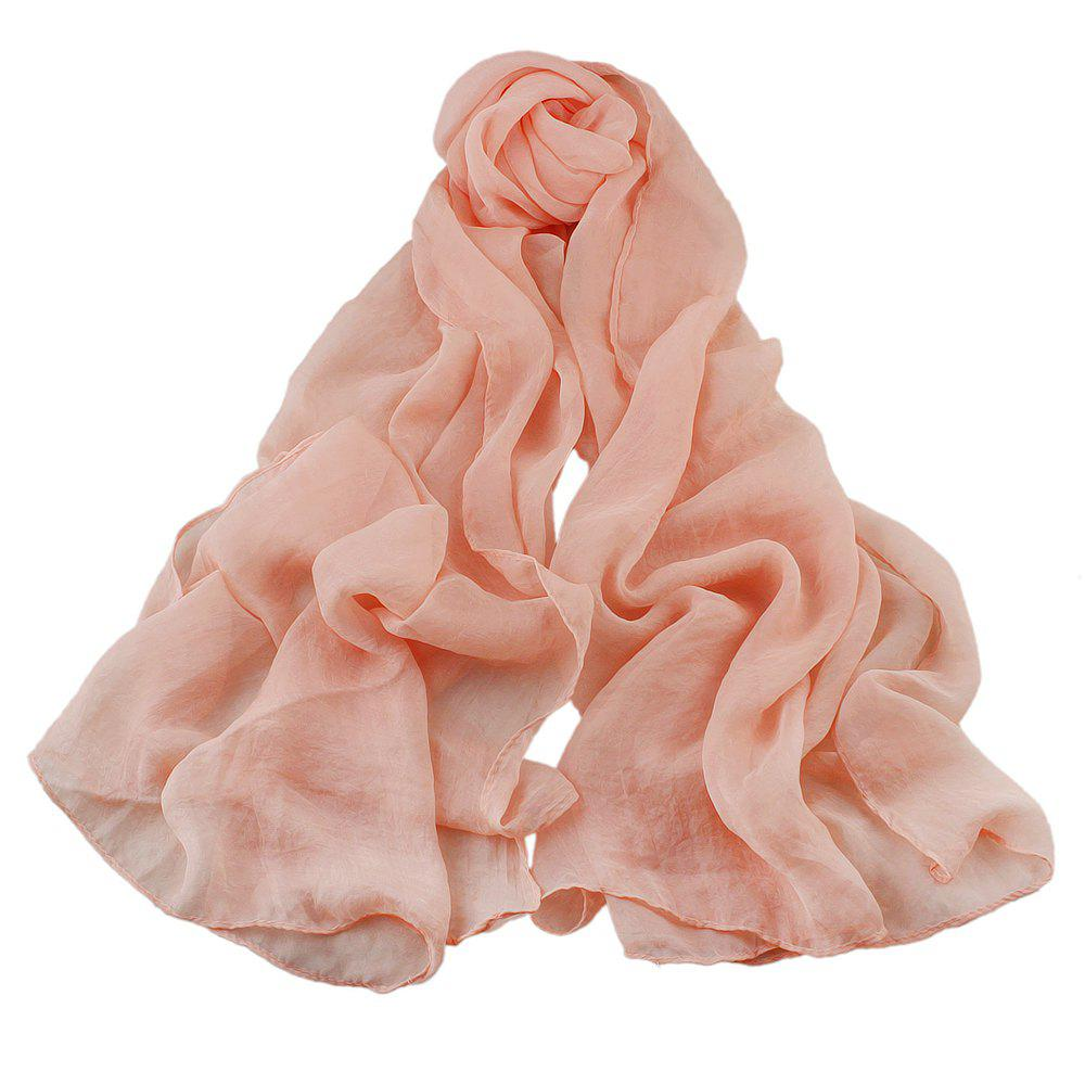 Outfits Fashion Solid Voile Soft Candy Scarf Shawl