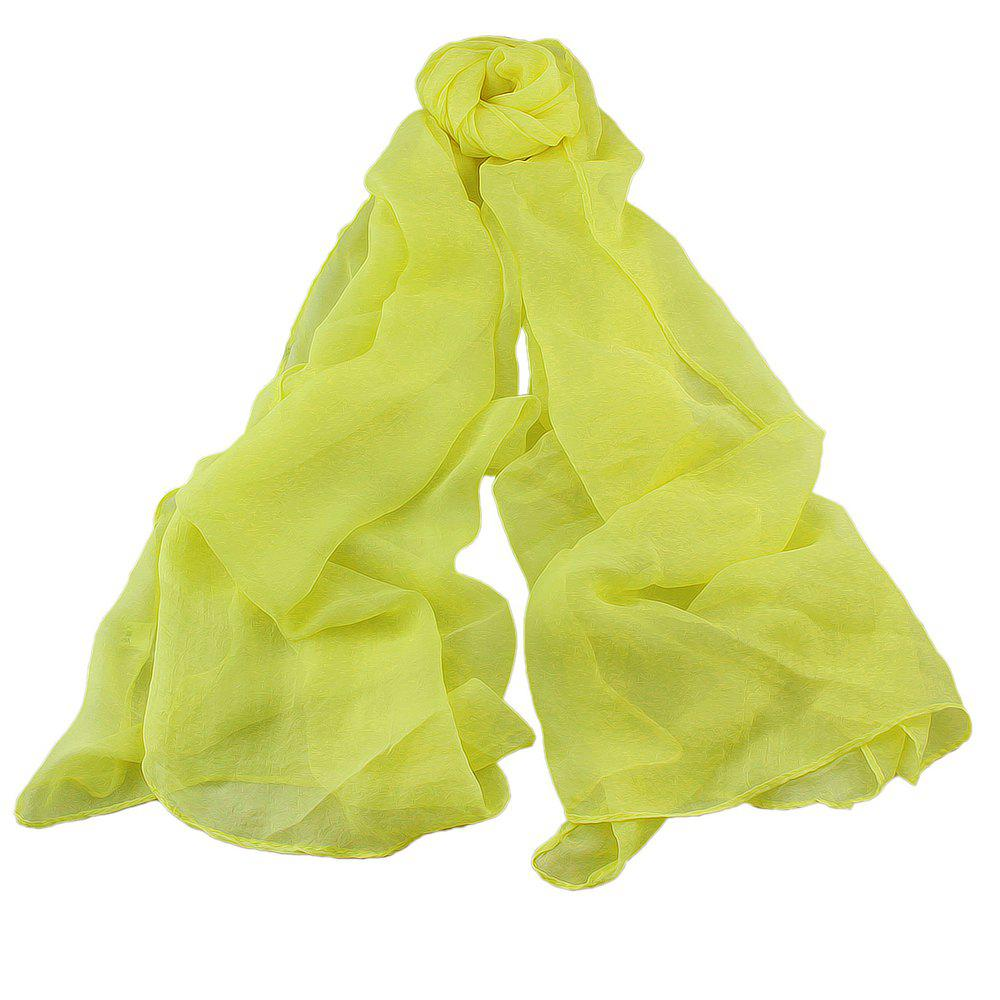 Store Fashion Solid Voile Soft Candy Scarf Shawl