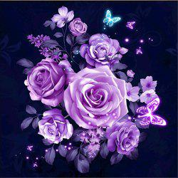 Home Wall Decor Flower 5D Diamond Painting Full DIY Embroidery Cross Craft -