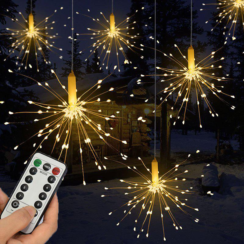 53 Off 2019 120led Hanging String Firework Light With