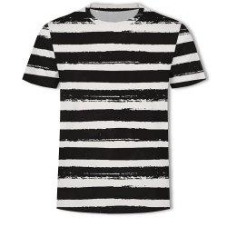 Casual Printed Round Neck Fashion Men's Short-sleeved T-shirt -