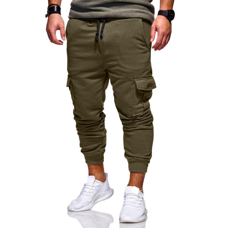 Sale Men's Fashion Casual Slim Trousers