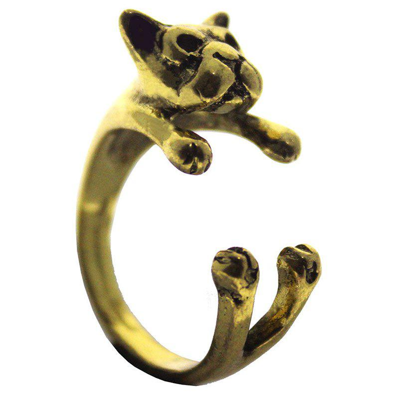 Latest Creative Animal  Bulldog Open Ring