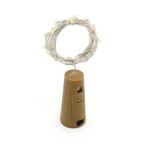 1m 10 Lights LED Lantern Bottle Stopper Type String Light for Birthday Christmas Decoration