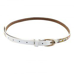 Fashion Candy PU Leather Belt For Women -