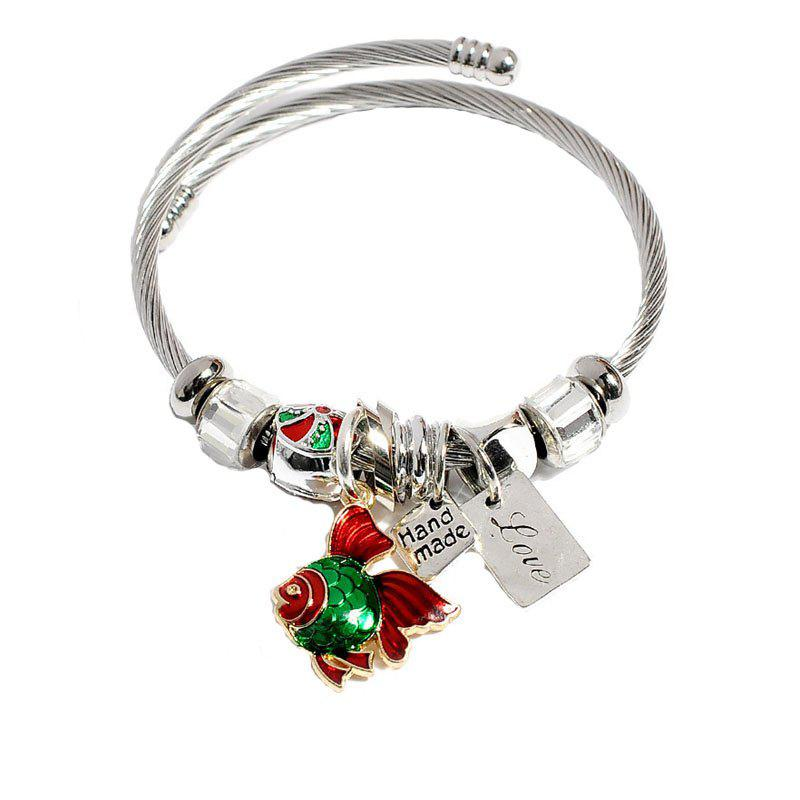 Повелительницы Lovely Little Goldfish Hang Piece Cartoon Bracelet