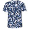 Summer Leisure Fashion 3D Men's Short Sleeve T-shirt -