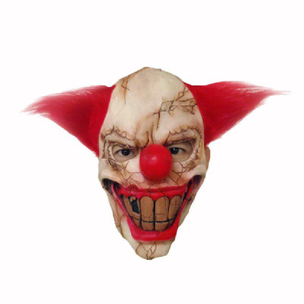 Trendy YEDUO Halloween Clown Big Mouth Cosplay Horror Masquerade Mask Ghost Party