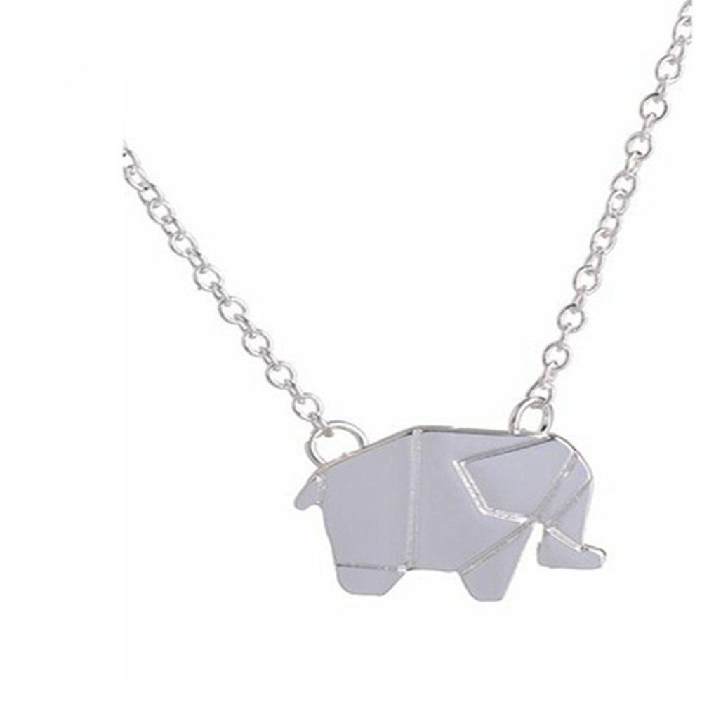 Fashion Elephant Alloy Plating Necklace Accessories