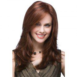 Tilted Frisette Water Ripple Long Wig -