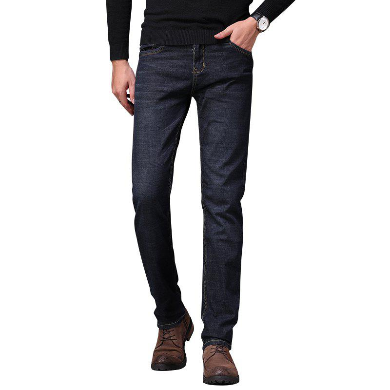 New Men's Fashionable Stretch Business Jeans
