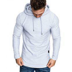 Men's Fashion Camouflage Stitching Two-piece Hooded Casual Slim Sweater -