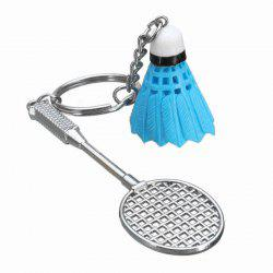 Mini Sport Badminton Racket Keychain -
