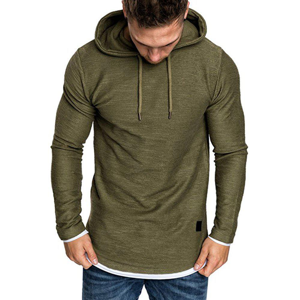 Outfits Autumn Winter Men's  Fashion Casual Multi-color Long-sleeved Sweatshirt