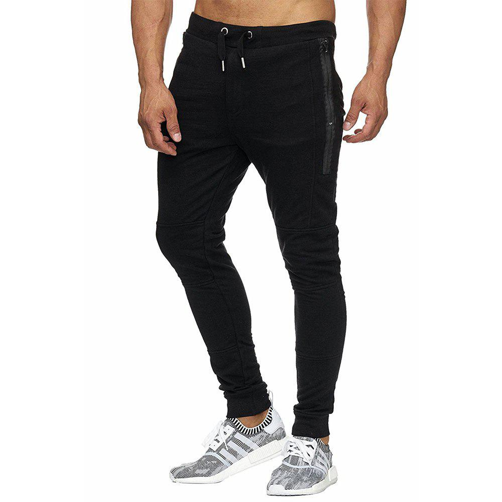 New Men's  Autumn Winter Fashion Casual Pants