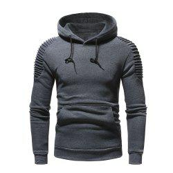 Men's  Autumn Winter Solid Color Personalized Fashion Sweatshirt -