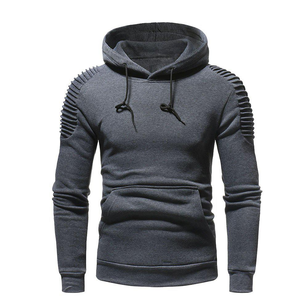 Outfits Men's  Autumn Winter Solid Color Personalized Fashion Sweatshirt