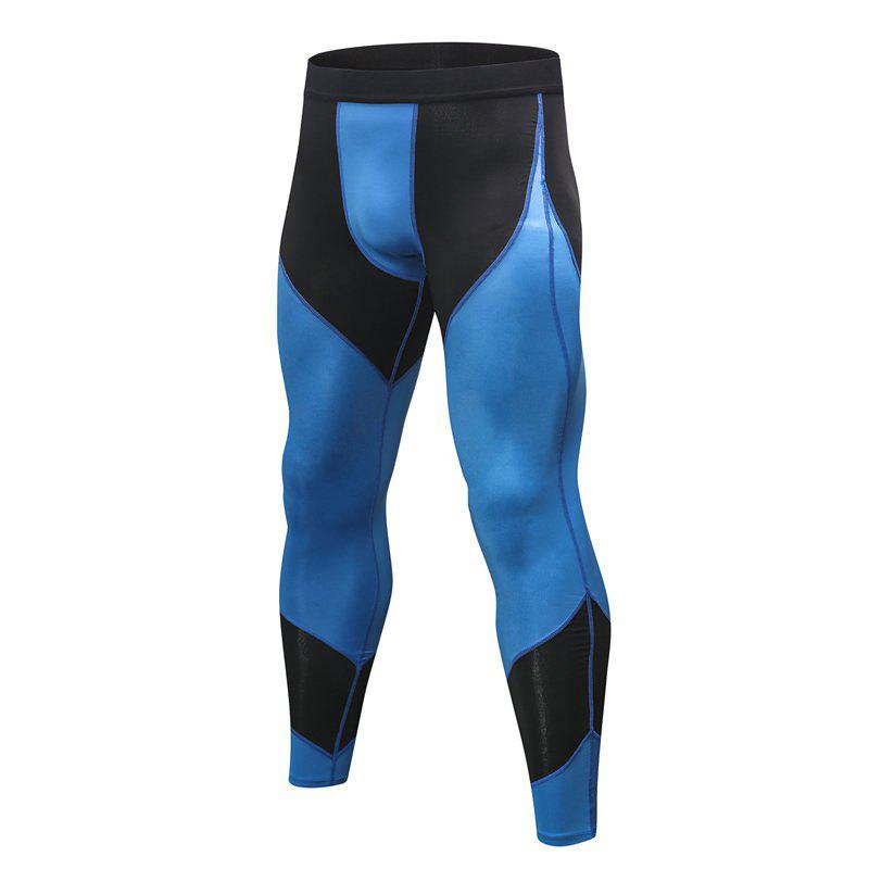 Online Men's Sports Running Training Fitness Quick-drying High-elastic Combat Pants