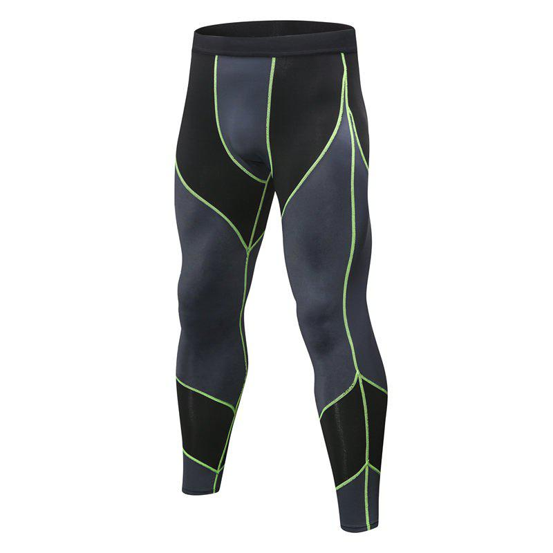 Hot Men's Sports Running Training Fitness Quick-drying High-elastic Combat Pants